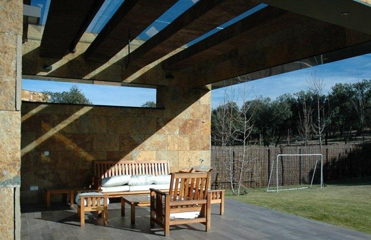 DAHL GHG terraza preciosa muebles madera ideas