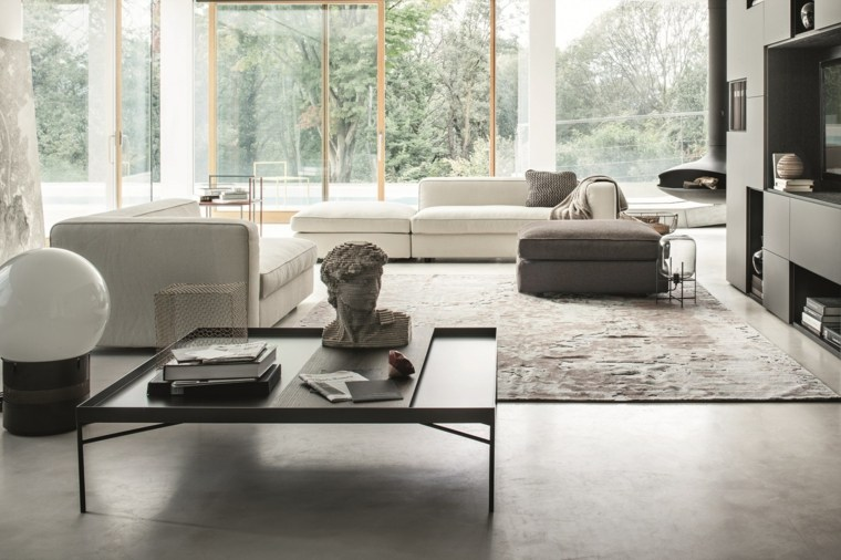 Francesco Rota salon moderno muebles precioso ideas