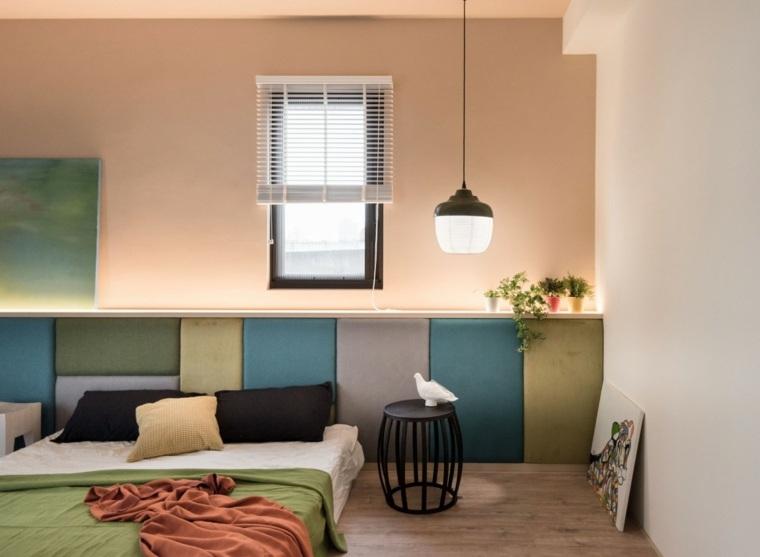 Hao Interior Design dormitorio respaldo colores ideas