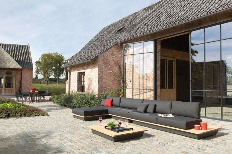 Manutti Designer Studio sofa negra grande preciosa ideas