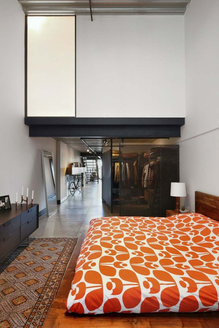 muebles para loft HED Architecture Design dormitorio ideas