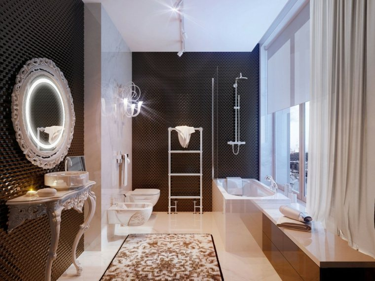 Baños Grandes Lujosos:Decoracion de baños 36 ideas excepcionales -
