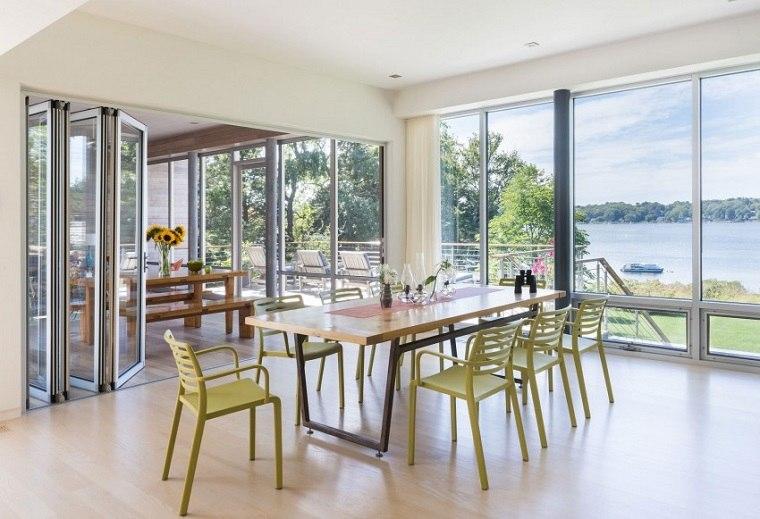 RUHL WALKER Architects diseno comedor moderno ideas