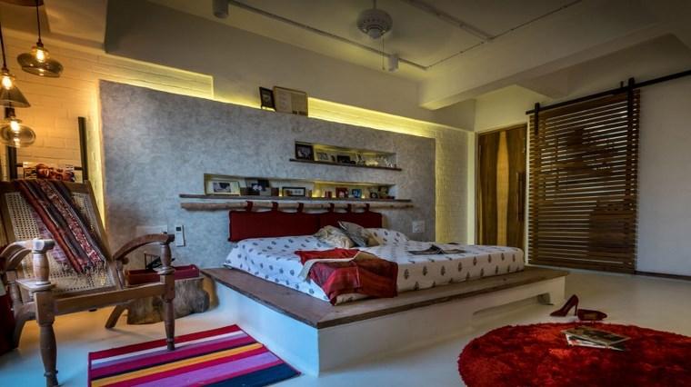 Skyward Inc estilo oxidental dormitorio ideas