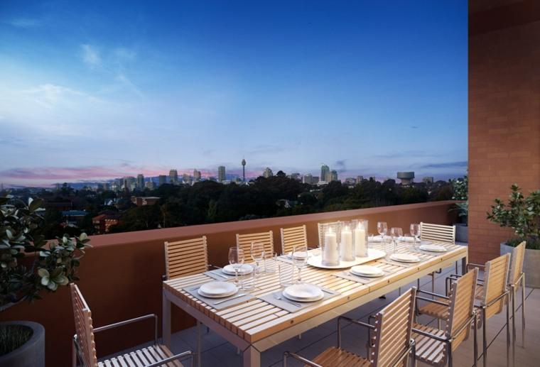 Smart Design Studio opciones comidas terraza ideas