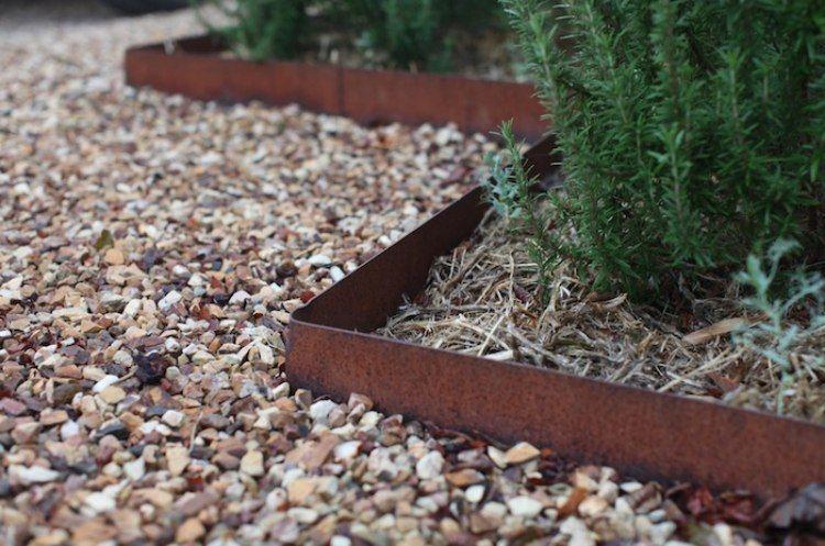 acero corten jardines imagenes rocas jardineras rocas