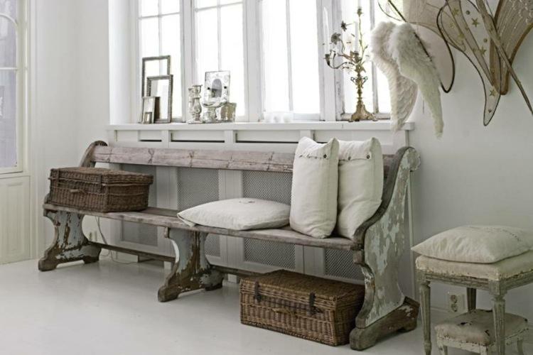 adornos recibidores con encanto estilo vintage - Recibidores Con Encanto