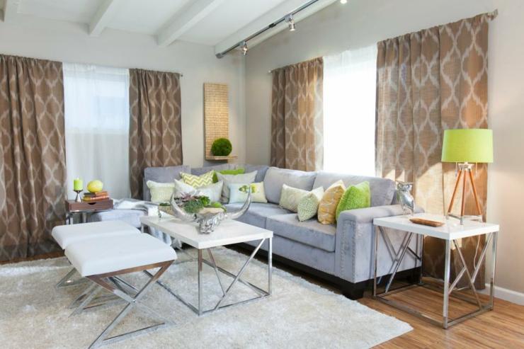 alfombras blancas decorados metal lamparas