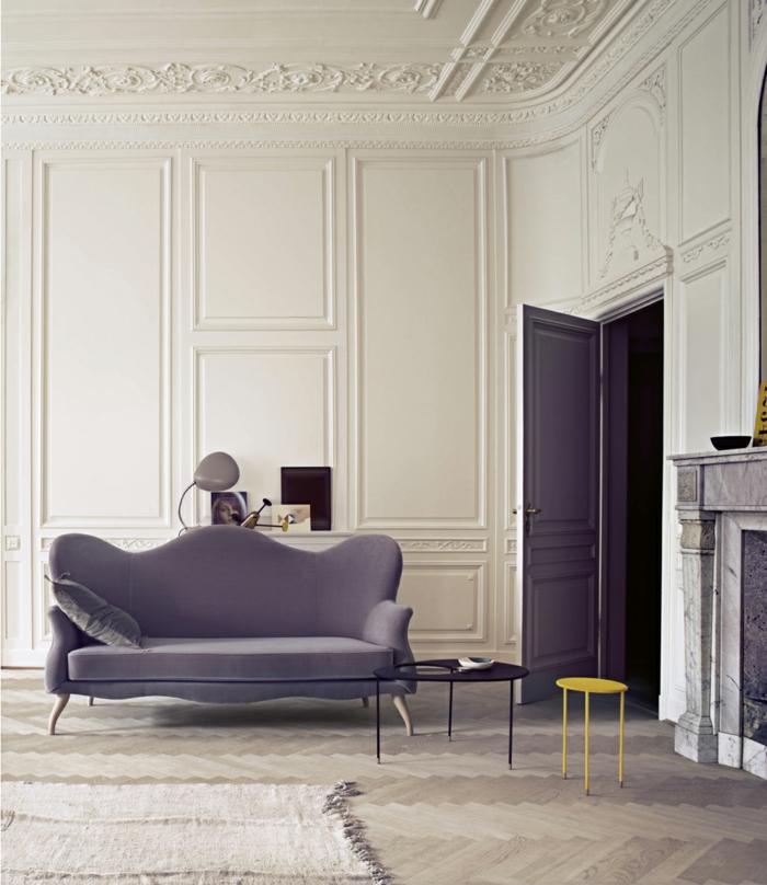 amarillo patrones sillas coronas chimeneas paredes