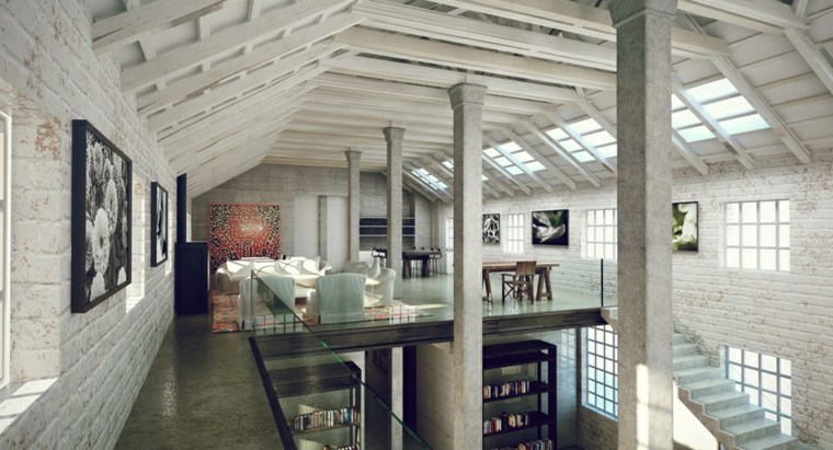apartamento duplex diseño moderno