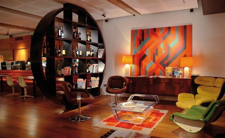 apartamento tipo loft decoración vintage