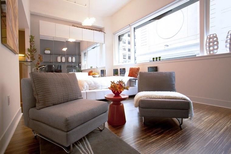 decoracion apartamentos pequeños modernos