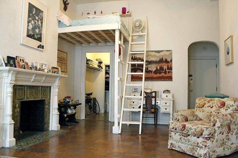 apartamento muebles estilo vintage