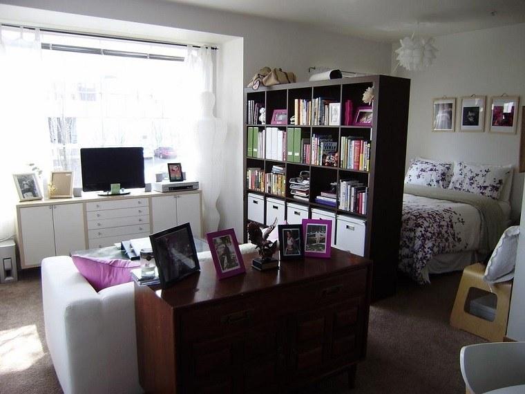 separadores espacios muebles estanterias