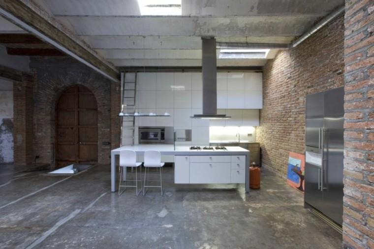 diseño apartamentos modernos estilo industrial