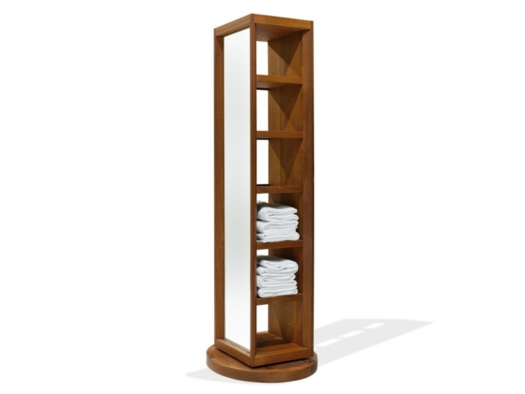 Bathroom cabinet tall narrow - Armarios De Ba 241 O Y Muebles Lavabo De Madera 50 Ideas