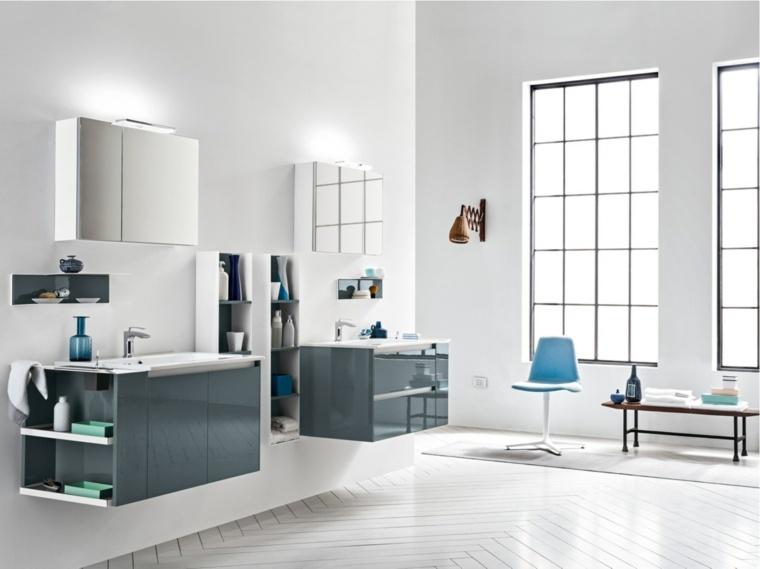 espejos para bao opciones originales armarios puertas epejo bano moderno ideas