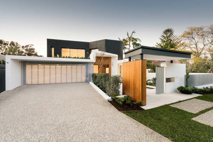 arquitectura diseño elegantes paredes senderos