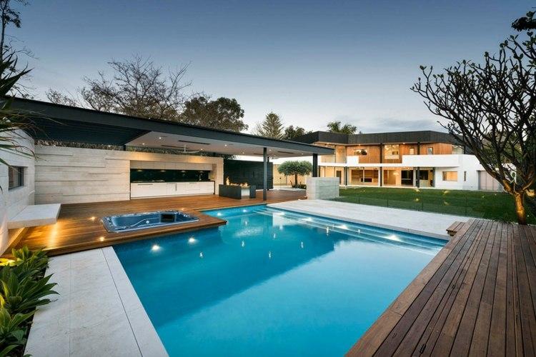arquitectura diseño madera plataformas arboles