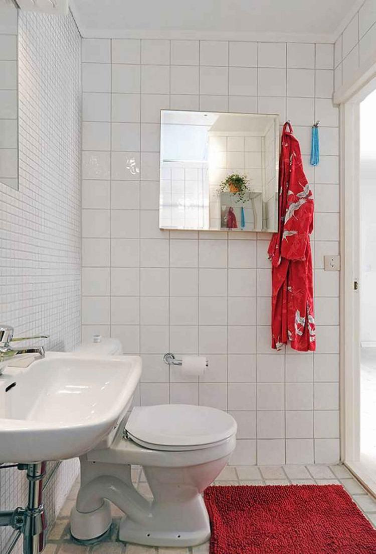 baños pequeños color blanco