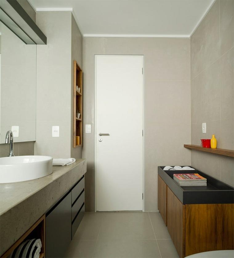 Cuartos de ba o de estilo minimalista 50 dise os oscuros - Cuartos de bano de diseno ...
