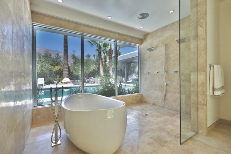 baños con bañeras ideas casas cristales vidrio