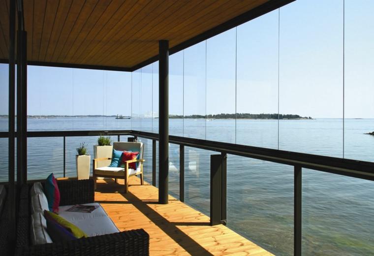 Cerramientos para balcon 38 dise os pr cticos - Soluciones para terrazas ...