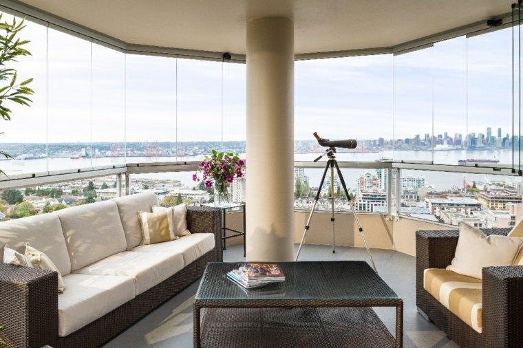 Cerramientos para balcon 38 dise os pr cticos for Decoracion balcones modernos