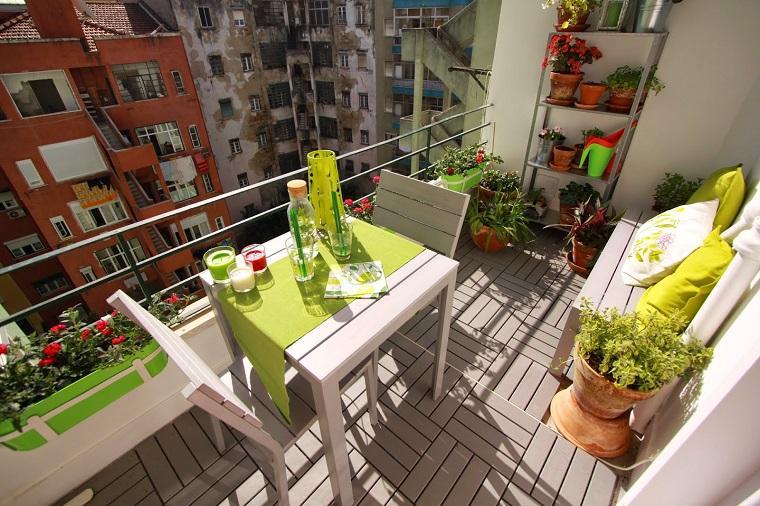 Flores bonitas y plantas para el balc n o la terraza for Que significa terraza