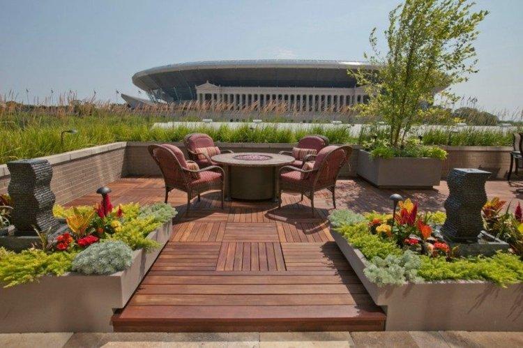 Balcon jardines y terrazas con pocas zonas de sombra for Plantas en balcones y terrazas