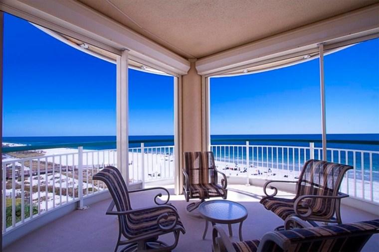 balcones acristalados diseño moderno