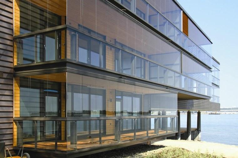 balcones acristalados diseño moderno deco