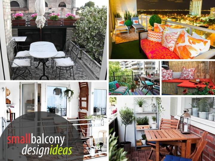 small balconies collage ideas wall art
