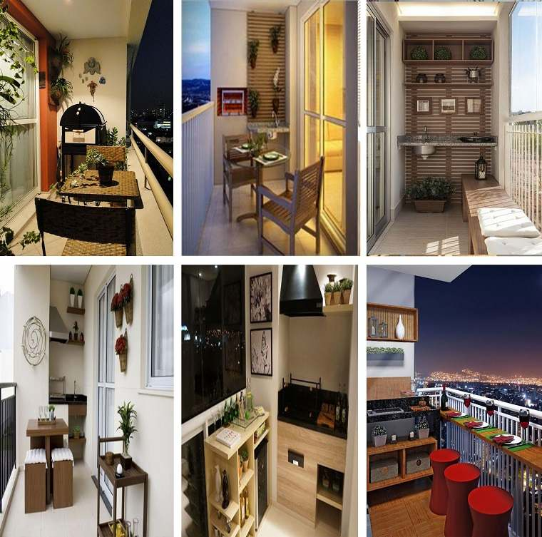 balcones pequeños diseños modernos