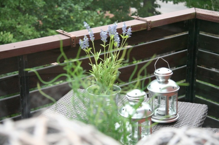 balcones terrazas bonita decoración