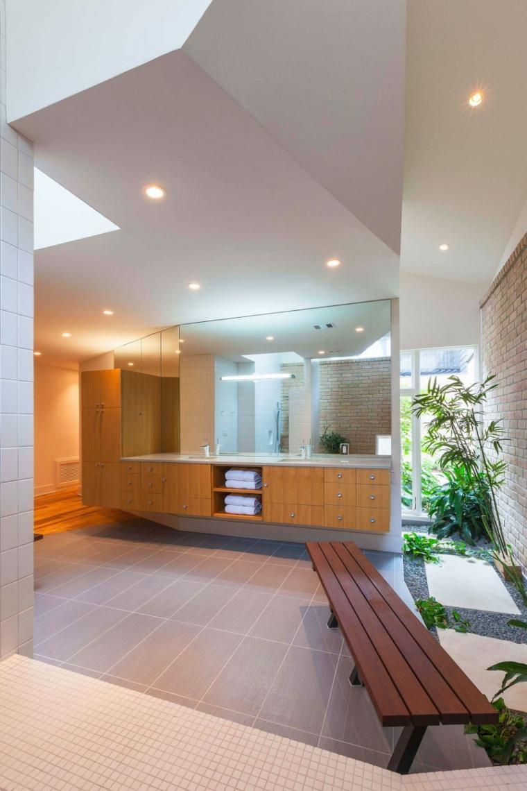 baños modernos fotos espacios amplios ideas