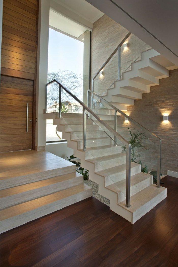 Barandillas vidrio y otros materiales 50 escaleras de - Casas de ensueno interiores ...