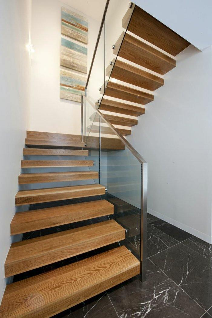 Barandillas vidrio y otros materiales, 50 escaleras de ensueño.