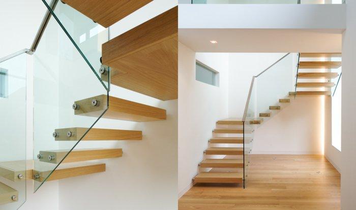 barandillas vidrio ideas calles soluciones caseros madera