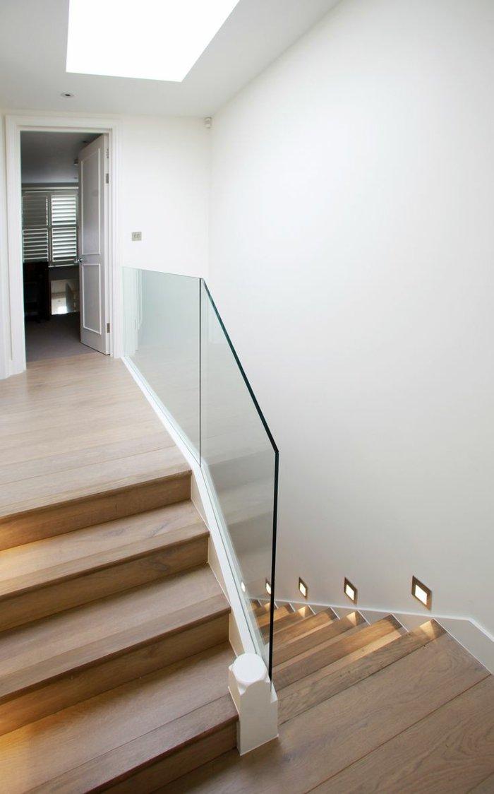 Barandillas Vidrio Y Otros Materiales 50 Escaleras De Ensue O  ~ Barandillas De Cristal Para Escaleras Interiores