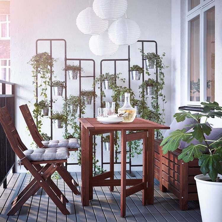 belleza balcon pequeno opciones comidas exterior ideas