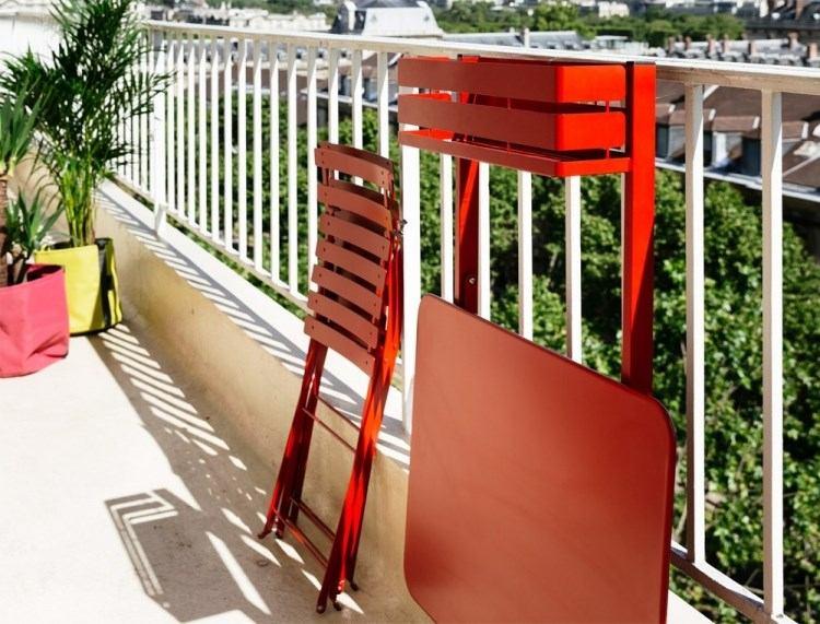 Belleza pura para el balc n en 50 ideas de muebles for Mesa plegable para balcon