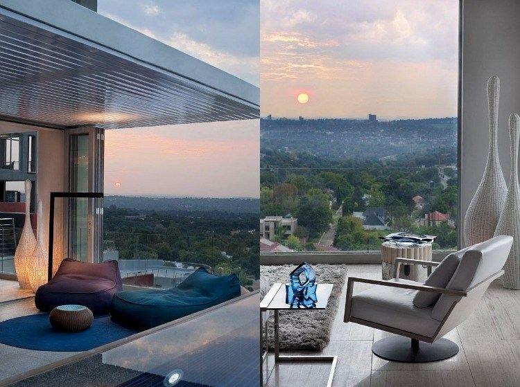 belleza balcon pequeno sillones comodos ideas