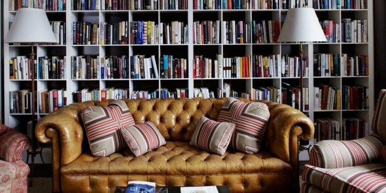 bibliotecas grandes sofa chesterfield