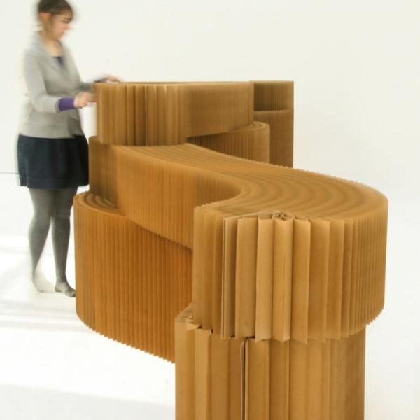 Biombos de papel para separar ambientes 24 fotos - Biombo de carton ...