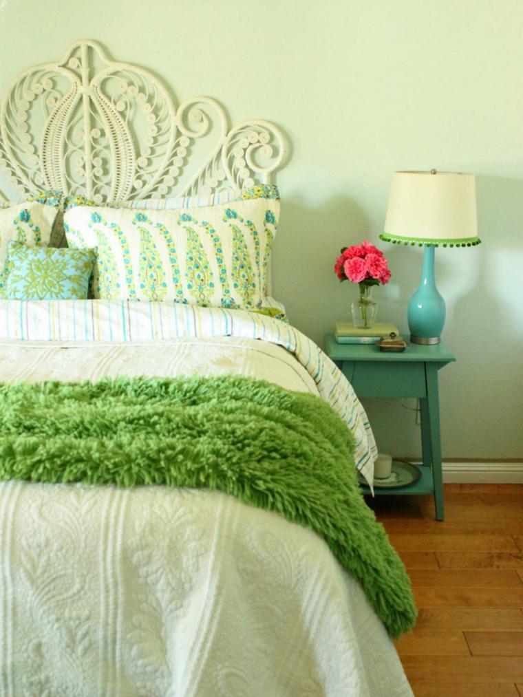 bonito diseño cabecero cama
