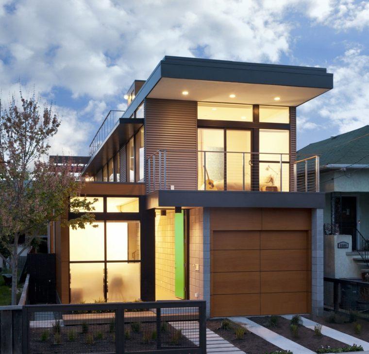 bonita casa moderna fachada - Fachadas Modernas De Casas
