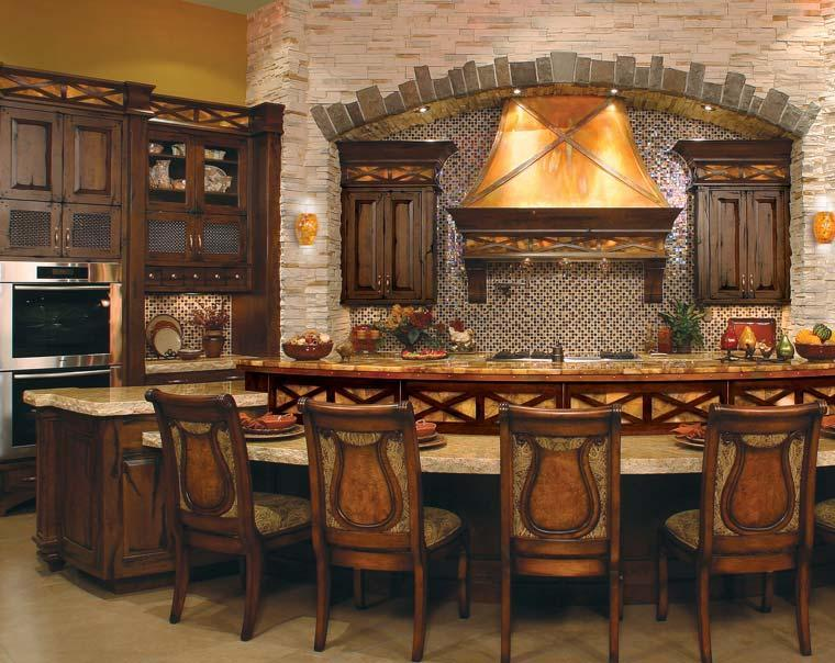 Decoraci n de cocinas antiguas 38 ideas geniales - Mesas antiguas de cocina ...