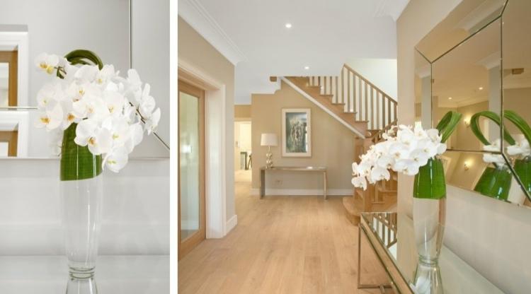 Recibidores con encanto 38 ideas para decorar - Ideas para recibidores ...