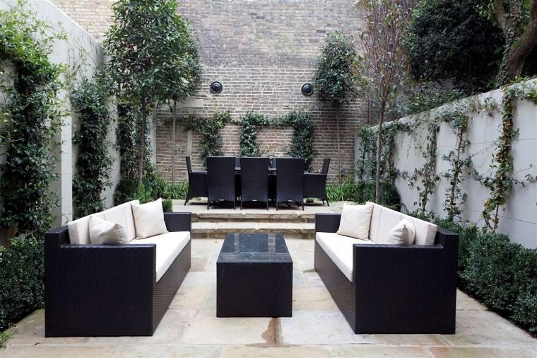 Patios interiores pequeños   ideas para una decoración moderna